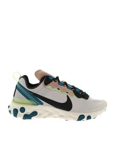 Nike - React Element 55 sneakers in white