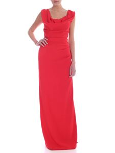 Vivienne Westwood  - Drapery dress in red