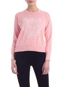 Kenzo - Tiger pullover in salmon pink
