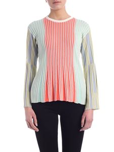 Kenzo - Rayon and cotton multicolor sweater