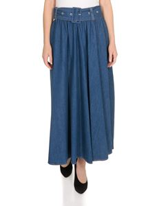MSGM - Long skirt Resort Collection in denim