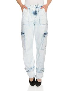 MSGM - Pantaloni in denim con tasconi