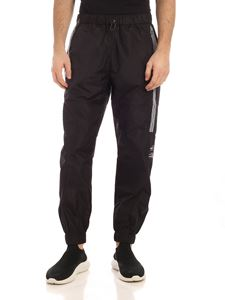 Marcelo Burlon County Of Milan - County tape pants in black