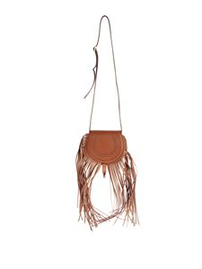 Chloé - Mini Marcie bag with fringes in Tan color