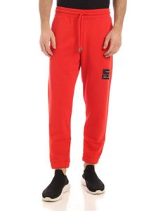 Marcelo Burlon - Logo pants in red