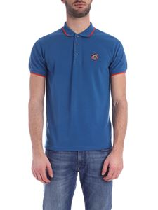 Kenzo - Tiger Crest K Fit polo shirt in blue
