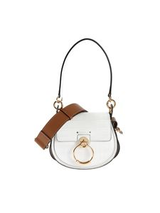 Chloé - Borsa Tess Mini Brillant White