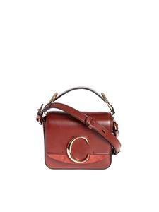 Chloé - Borsa mini Chloé C Sepia Brown