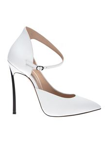 Casadei - Blade Sylvia pumps in white
