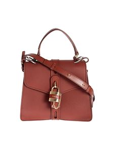Chloé - Medium Aby day shoulder bag in Sepia Brown