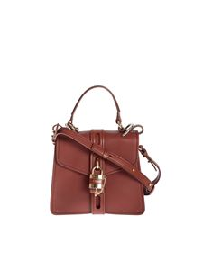 Chloé - Small Aby day shoulder bag in Sepia Brown