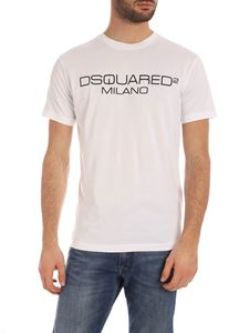 Dsquared2 - Dsquared2 Milano print T-shirt in white