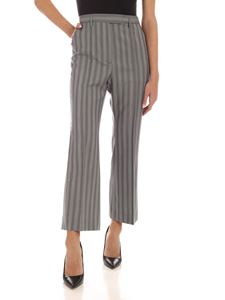 Acne Studios - Stripes pattern pants in shade of grey