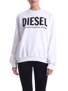 Diesel - Ang sweatshirt in white