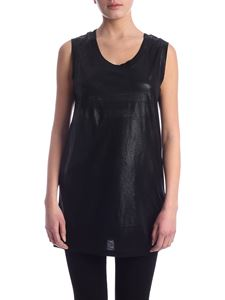 Diesel - Abby coated top in black