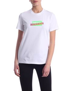 Diesel - Sily-S2 T-shirt in white