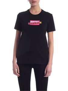 Diesel - Sily-S2 T-shirt in black