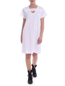 Diesel - Stripe dress in white