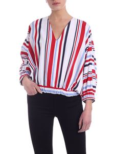 Stella Jean - Striped pattern blouse in white