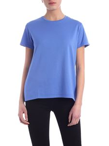 Aspesi - Cotton T-shirt in indigo color
