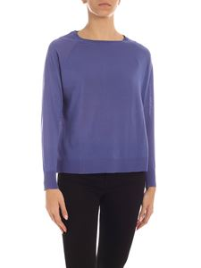 Aspesi - Sweater with vents in purple