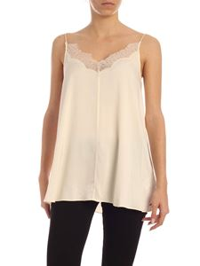 Calvin Klein - Lace top in nude color