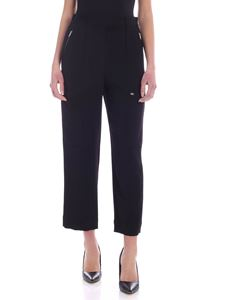 Calvin Klein - Zipped pants in black