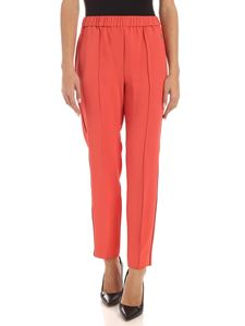 Calvin Klein - Black details pants in coral color
