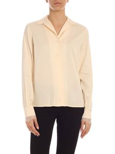 Calvin Klein - Lace shirt in nude color