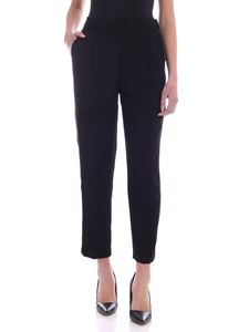 Tommy Hilfiger - Tattiana logo details pants in black