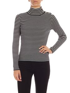 Tommy Hilfiger - Joelle stripes sweater in blue and white