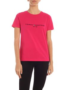 Tommy Hilfiger - T-shirt Bright Jewel fucsia