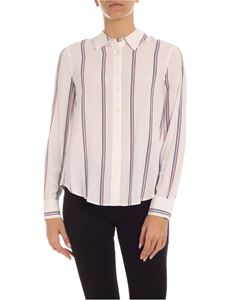Tommy Hilfiger - Danee striped pattern shirt in white