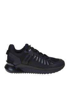 Balmain - B-Trail sneakers in black