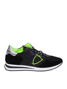Philippe Model - Trpx sneakers in black with neon details