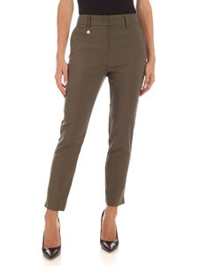 Blumarine - Charm pants in Army green color