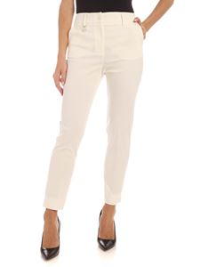Blumarine - Charm pants in ivory color