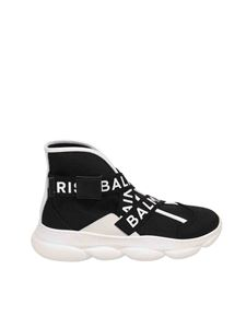 Balmain - Sneakers B-Troop high-top nere