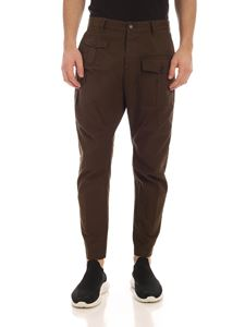 Dsquared2 - Cargo pants in Army green