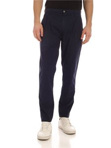 Aspesi - Pleated trousers in blue