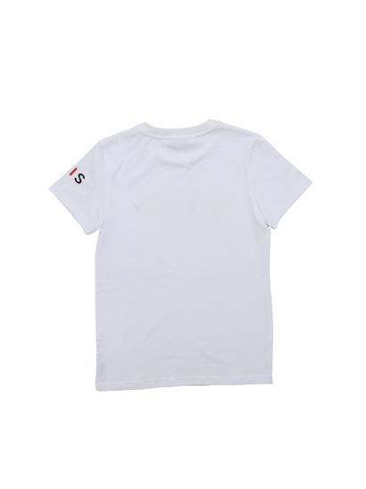 Givenchy - T-shirt stampa logo multicolor