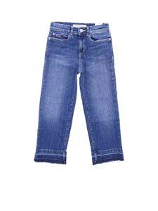 Calvin Klein Jeans - Straight Hr Crop Deep jeans in blue
