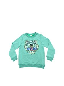 Kenzo - Tiger sweatshirt in melange green