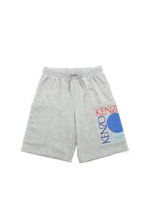 Kenzo - Dragon Celebration bermuda in grey
