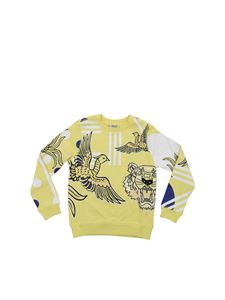 Kenzo - Felpa Phoenix Celebration color limone