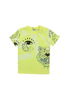 Kenzo - Cali Party T-shirt in neon yellow
