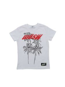 MSGM - MSGM logo T-shirt in white