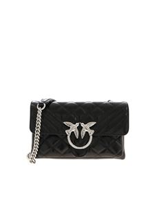 Pinko - Borsa Love Mini Soft nera