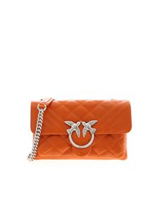 Pinko - Borsa Love Mini Soft arancione