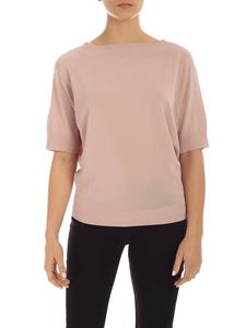 Parosh - Viscose sweater in pink